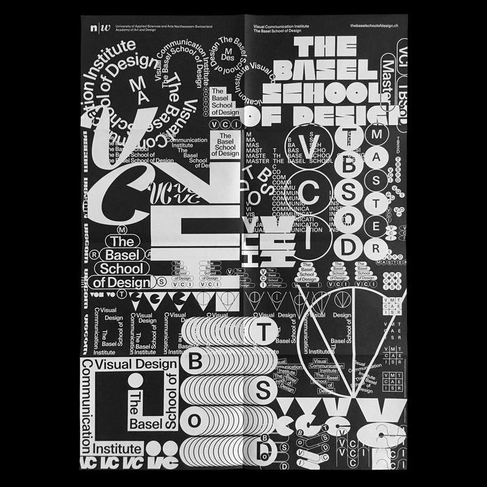 The Basel School of Design poster/flyer 3
