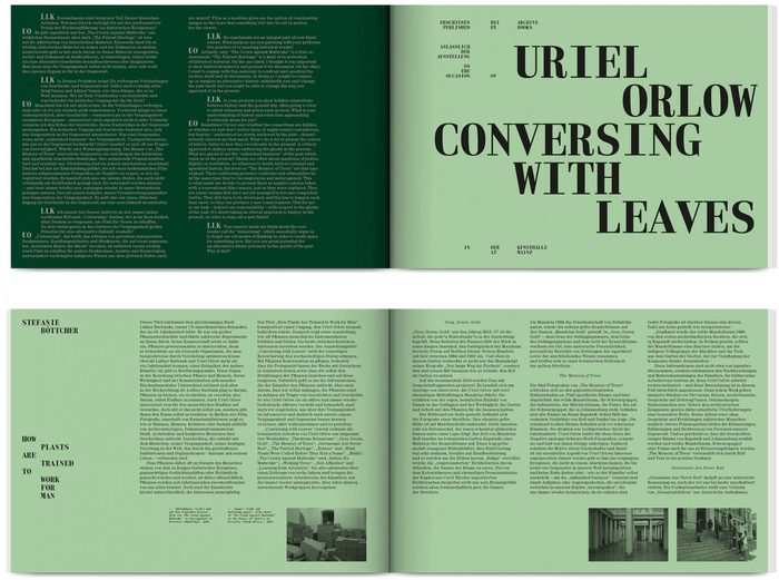 Uriel Orlow – Conversing with Leaves 2