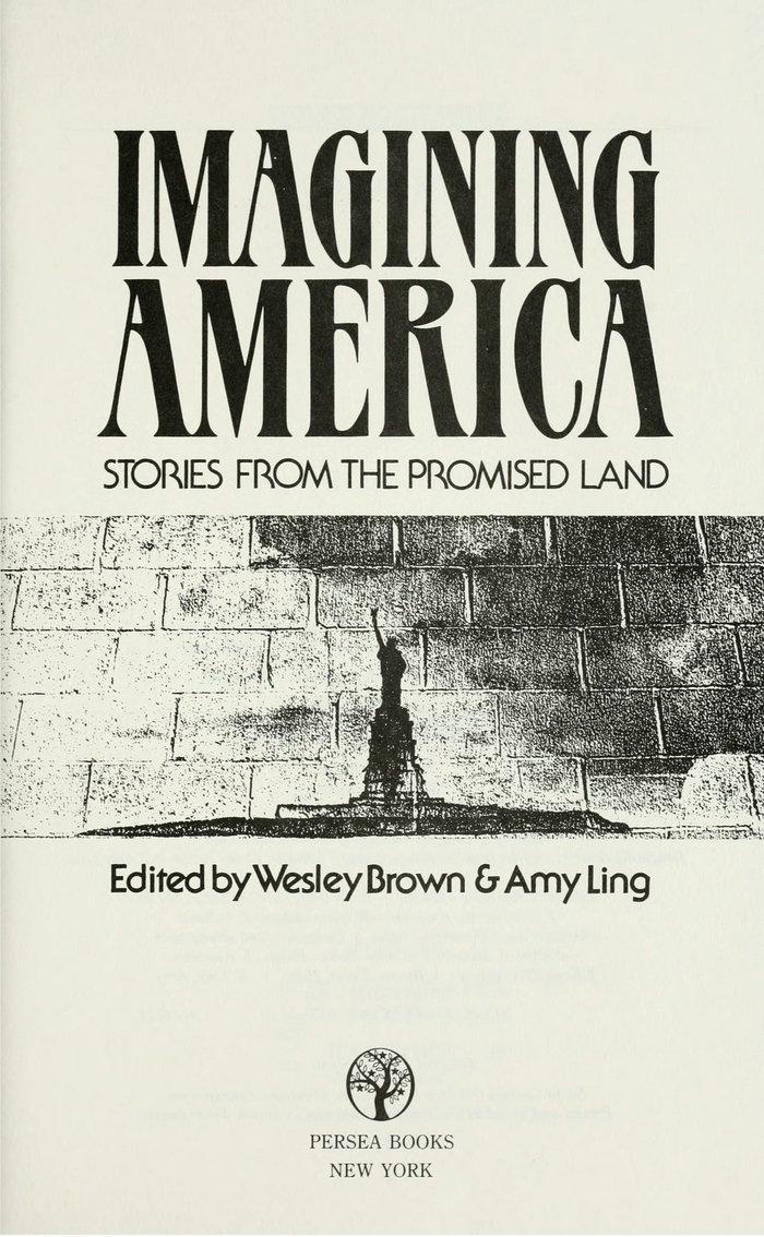 Imagining America (1991) and Visions of America (1993), Persea Books 2