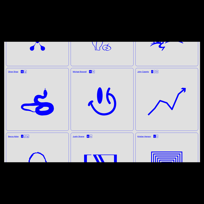 Good Glyphs No. 1 website 4