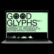 Good Glyphs No. 1 website