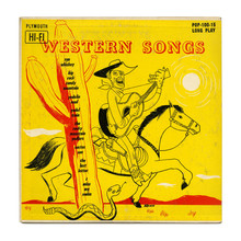 Slim Clark – <cite>Western Songs</cite> album art