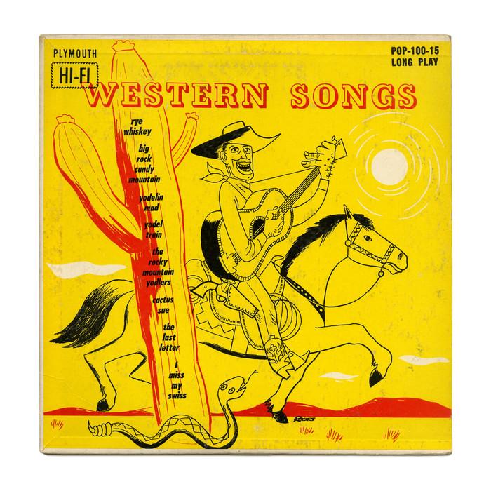 Slim Clark – Western Songs album art