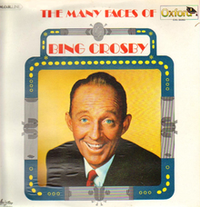 Bing Crosby – <cite>The Many Faces Of Bing Crosby</cite> album art