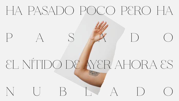 "Anaju – ""Me iré"" single sleeve and lyrics video 2"