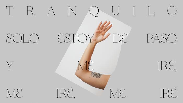 "Anaju – ""Me iré"" single sleeve and lyrics video 3"