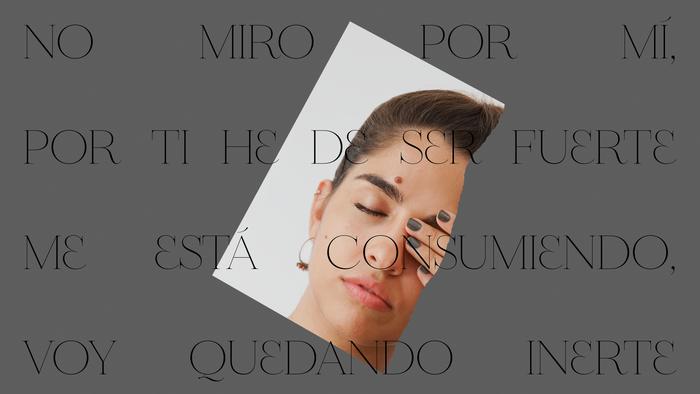 "Anaju – ""Me iré"" single sleeve and lyrics video 4"