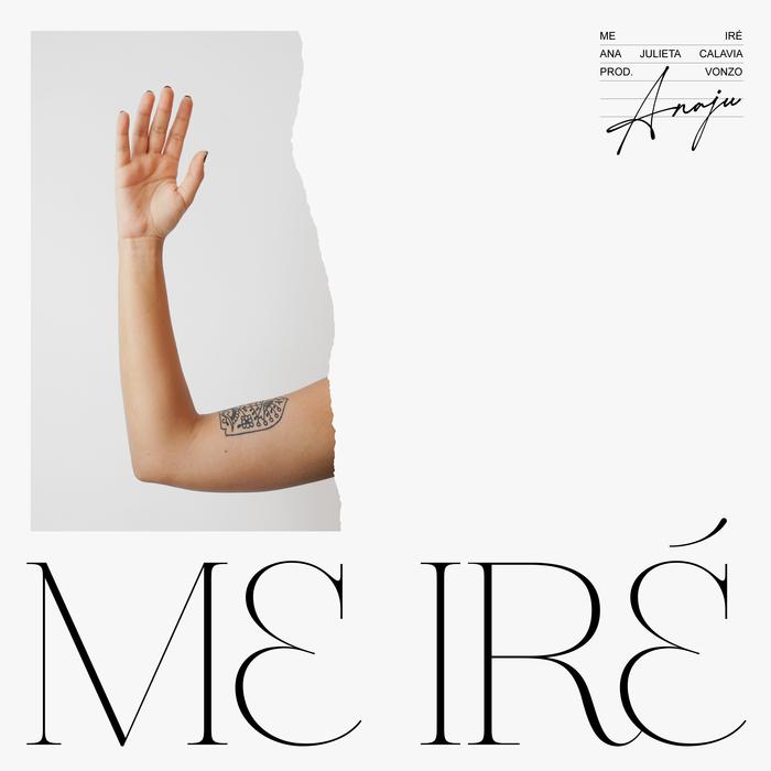 "Anaju – ""Me iré"" single sleeve and lyrics video 1"