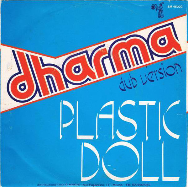 "Dharma – ""Plastic Doll"" Italian single sleeve 3"