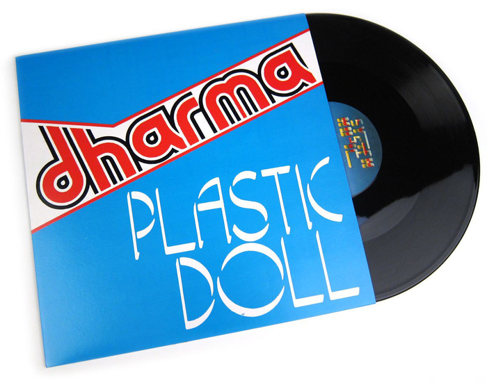 "Dharma – ""Plastic Doll"" Italian single sleeve 1"