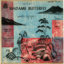 <cite>Madame Butterfly Operatic Highlights</cite> album art