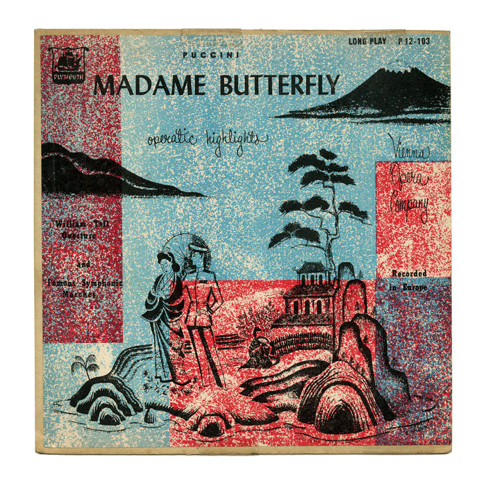Madame Butterfly Operatic Highlights album art