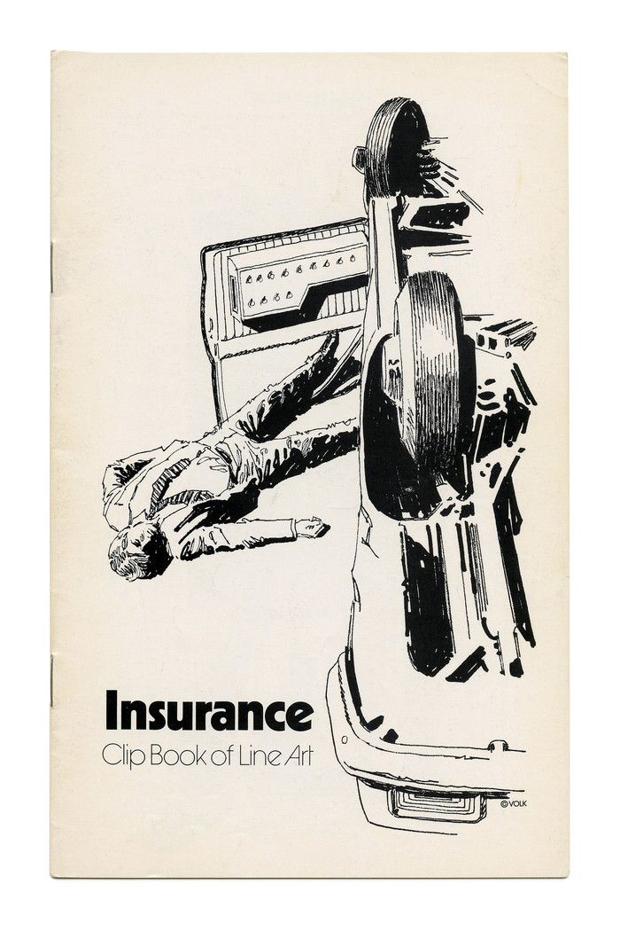 """""""Insurance"""" (No. 231) with a graphic depiction of why you might need one, ft. ."""
