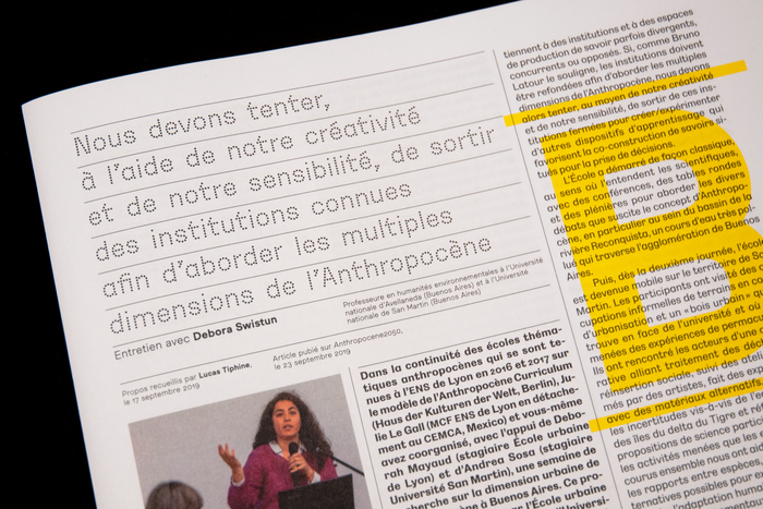 A°2020, le magazine de l'Anthropocène 3