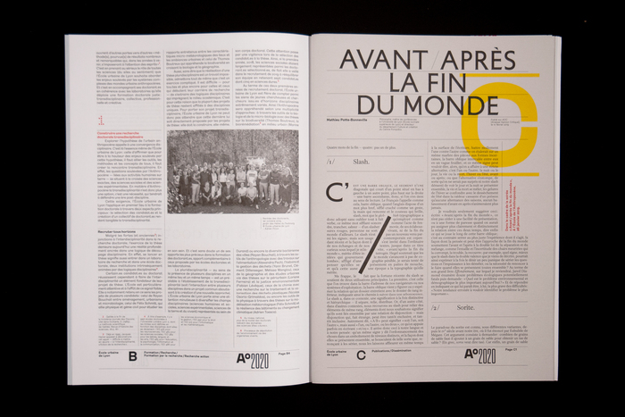 A°2020, le magazine de l'Anthropocène 4