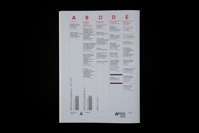 A°2020, le magazine de l'Anthropocène 12
