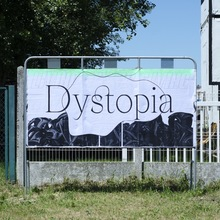 """Living Dystopia"" poster"