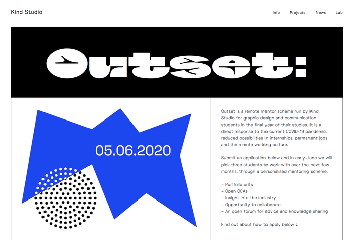 Outset 2020 by Kind Studio 1