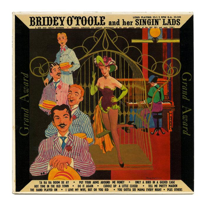 Bridey O'Toole and her Singin' Lads album art