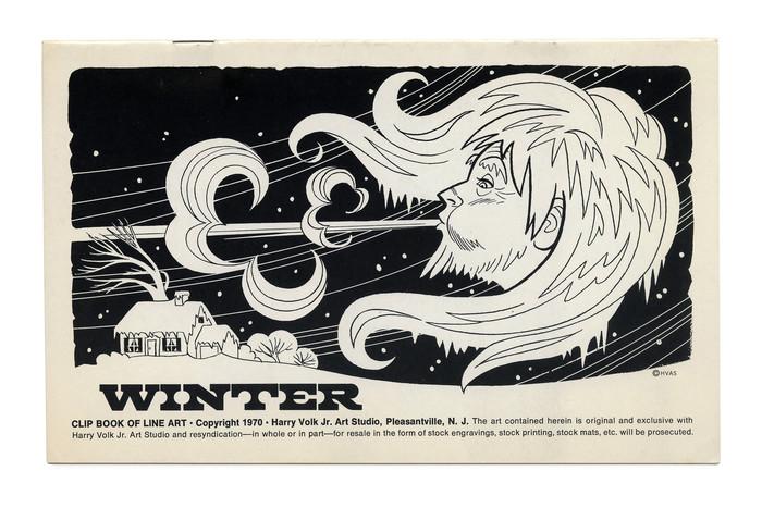 """Winter"" (No. 197) ft.  (Giorgio Giaiotto, 1966)."