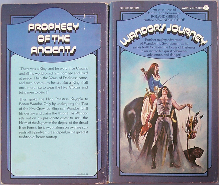 Wandor's Ride and Wandor's Journey by Roland Green (Avon) 5