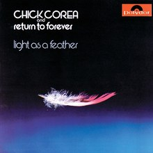 Chick Corea and Return to Forever – <cite>Light as a Feather</cite> album art