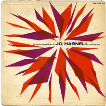<cite>The Piano Inventions of Jo Harnell and His Trio</cite> album art
