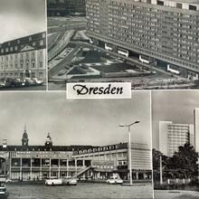 """""""Dresden"""" postcard (1969)"""