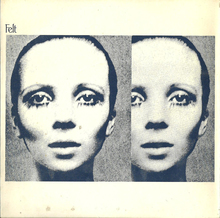 "Felt – ""Penelope Tree"" single record"