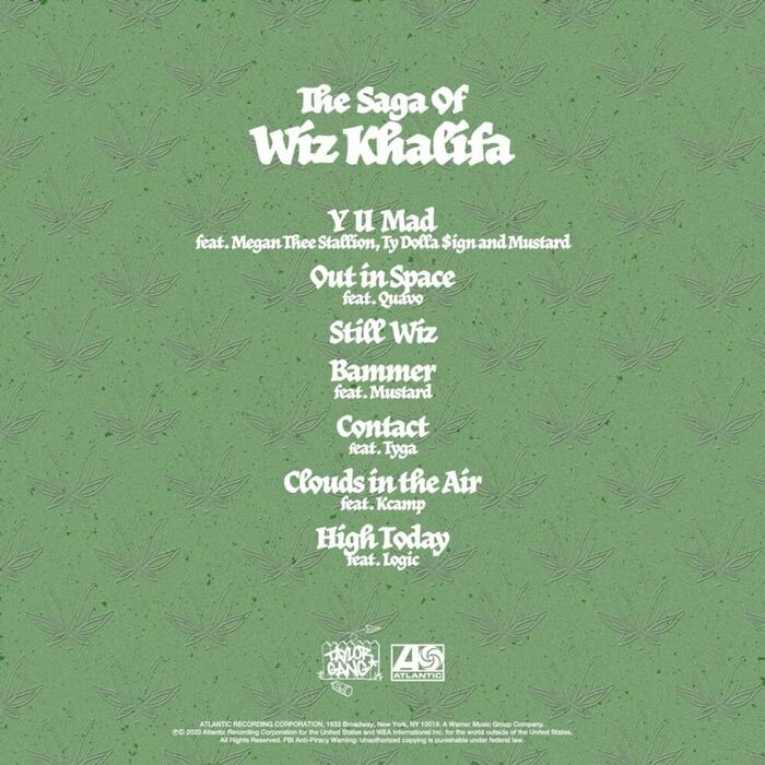 Wiz Khalifa – The Saga of Wiz Khalifa 4