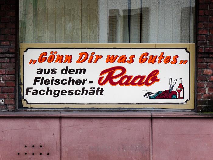 """""""Gönn Dir was Gutes"""", Fleischer-Fachgeschäft Raab, Limburg 1"""