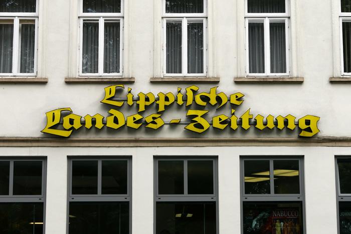 Lippische Landes-Zeitung nameplate 1