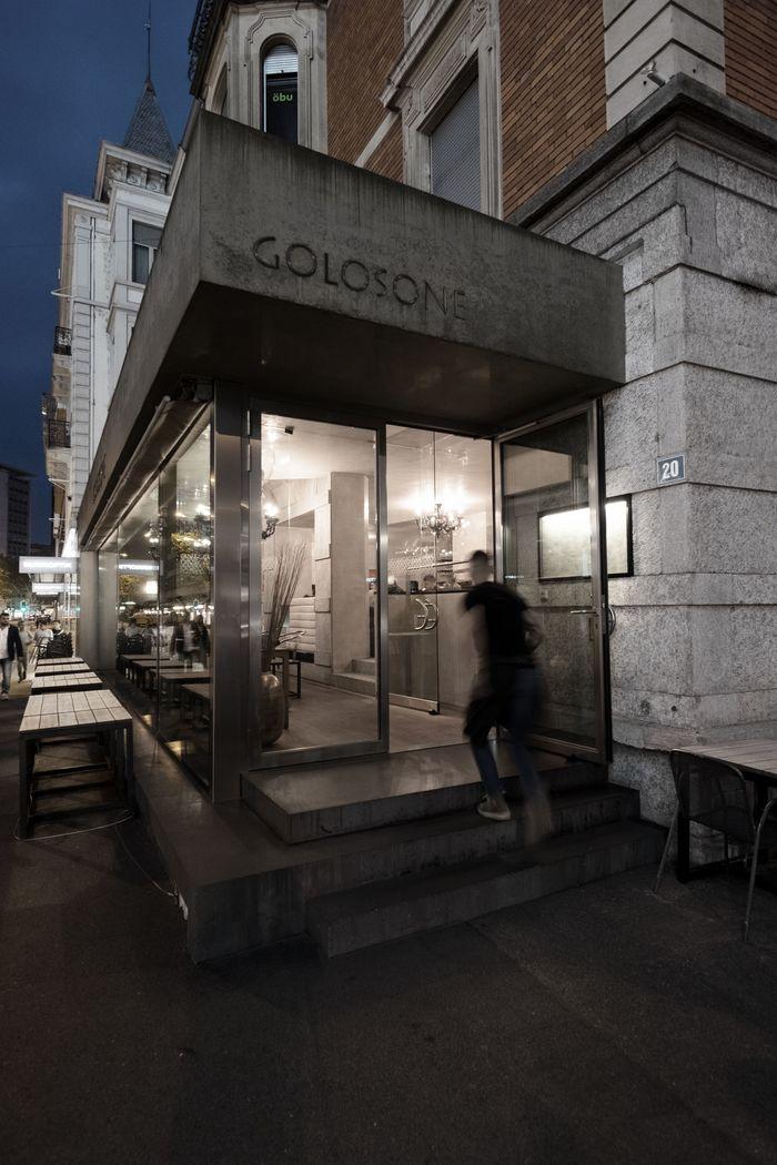 Golosone restaurant, Zürich 1