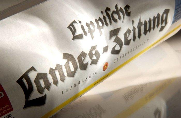 Lippische Landes-Zeitung nameplate 3