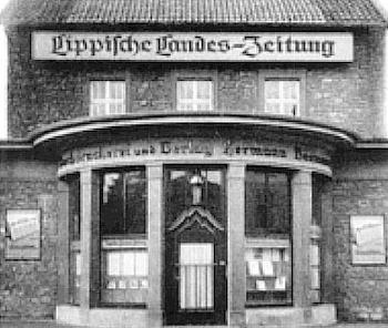 Lippische Landes-Zeitung nameplate 4