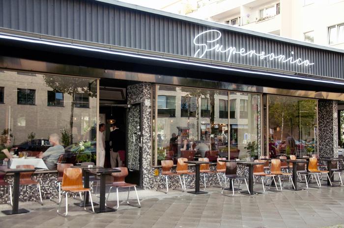 Supersonico restaurant, Berlin 4