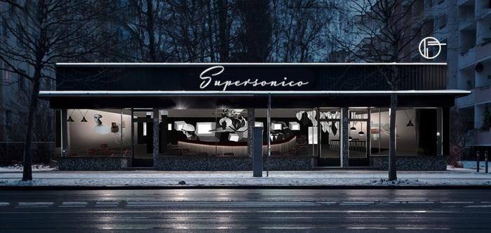 Supersonico restaurant, Berlin 1