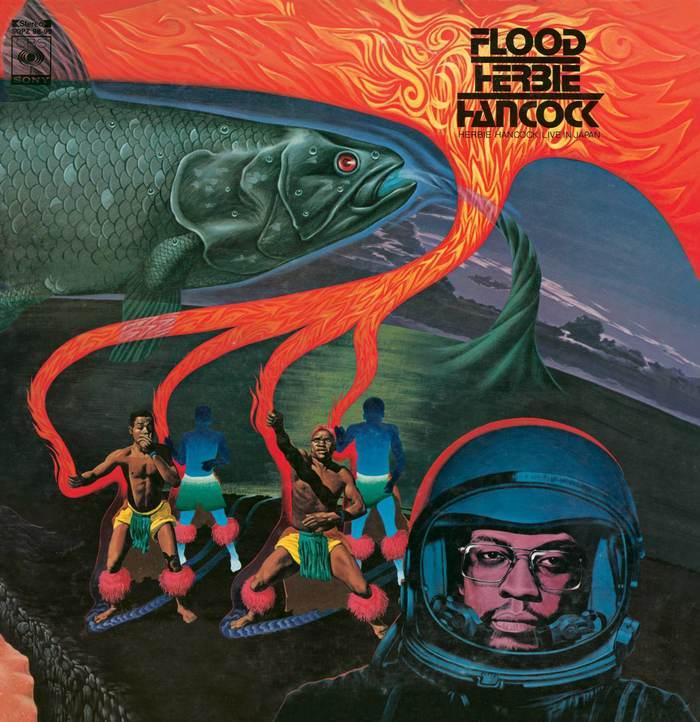 Herbie Hancock – Flood album art 1