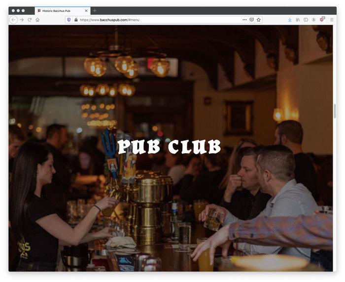 Bacchus Historic Pub 6