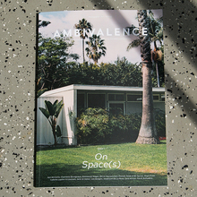 "<cite>Ambivalence</cite> magazine, issue 01, ""On Spaces"""
