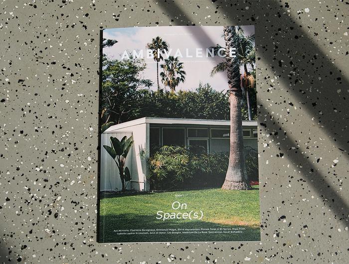 "Ambivalence magazine, issue 01, ""On Spaces"" 1"