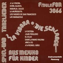 <cite>La Vibora / Die Schlange</cite> album art, Fidula Fon