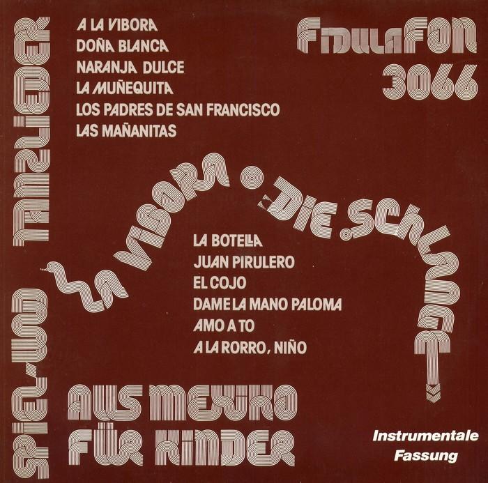 La Vibora / Die Schlange album art, FidulaFon 1