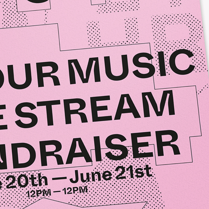 Outhouse Sounds live stream fundraiser poster 3