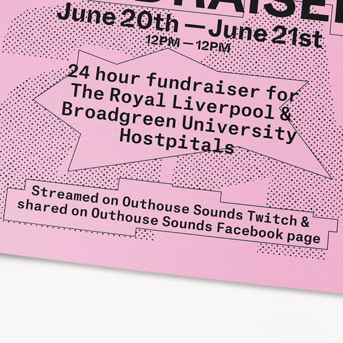 Outhouse Sounds live stream fundraiser poster 5