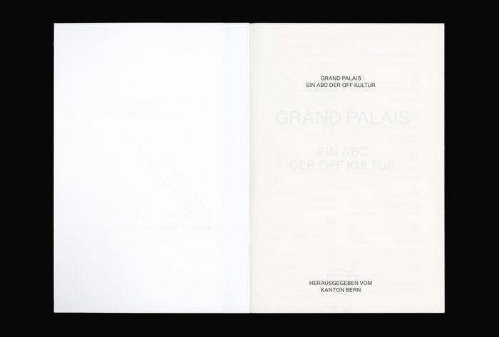 Grand Palais A–Z. Ein ABC der Off Kultur 2