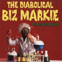 The Diabolical Biz Markie – <cite>The Biz Never Sleeps</cite> album art
