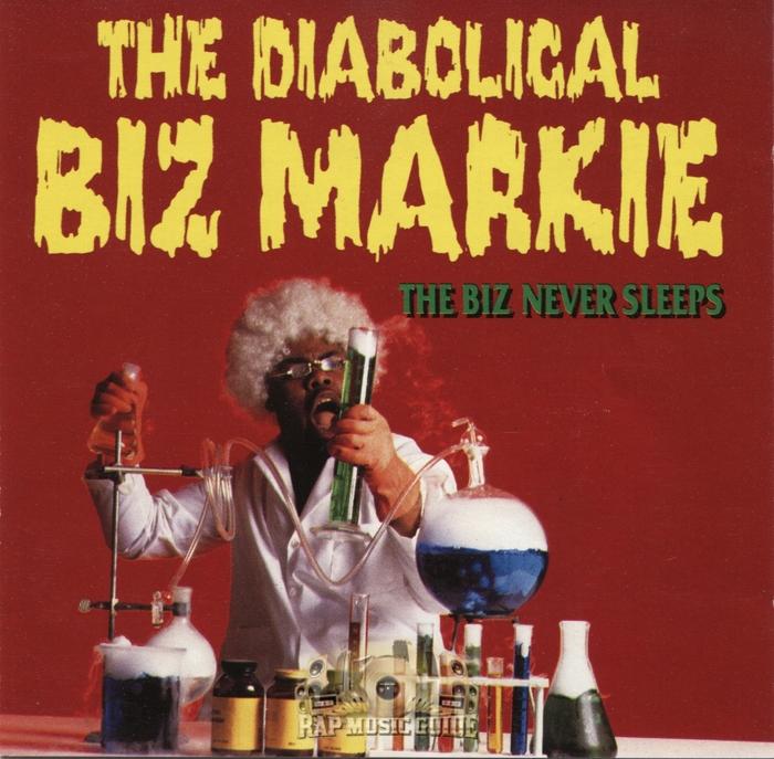 The Diabolical Biz Markie – The Biz Never Sleeps album art 1