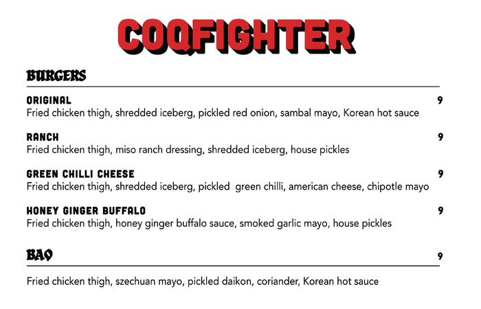 Coqfighter chicken restaurant 7