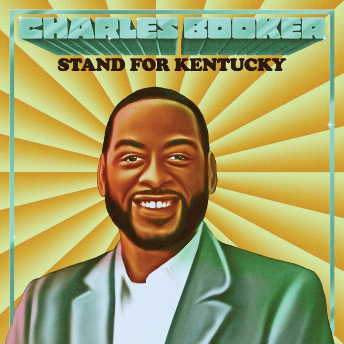 """Charles Booker: Stand for Kentucky"" illustration"